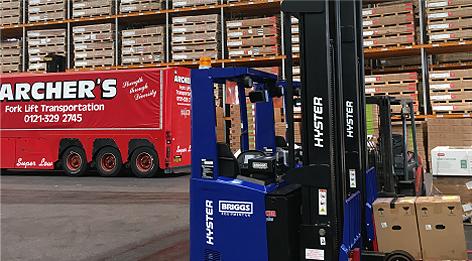 Forklift Transport
